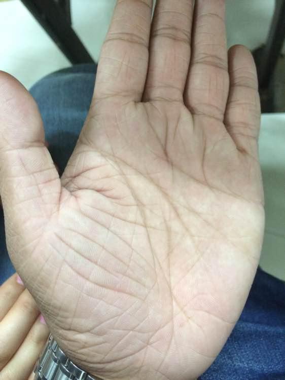 手纹算命图解_女人掌纹很乱代表什么_手纹很乱
