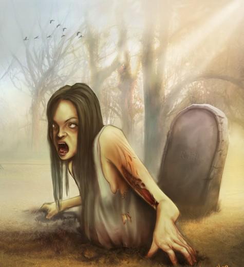 周公解梦梦见女鬼在我床上向我爬过来吓唬我会怎样